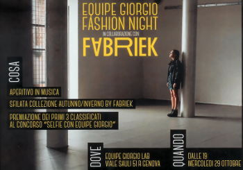 Fabriek & Equipe Giorgio parrucchieri Fashion night: una combinata fantastica!